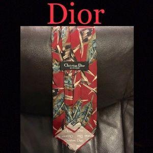 Dior Silk Necktie